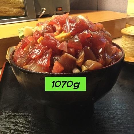 東大宮玄海寿司ばらちらし丼ランチ大盛り