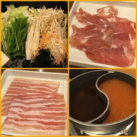 和食さと西大島店しゃぶしゃぶ大食い初回提供品