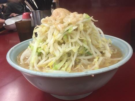 ラーメン二郎相模大野大ラーメン計量全店制覇ヤサイアブラ