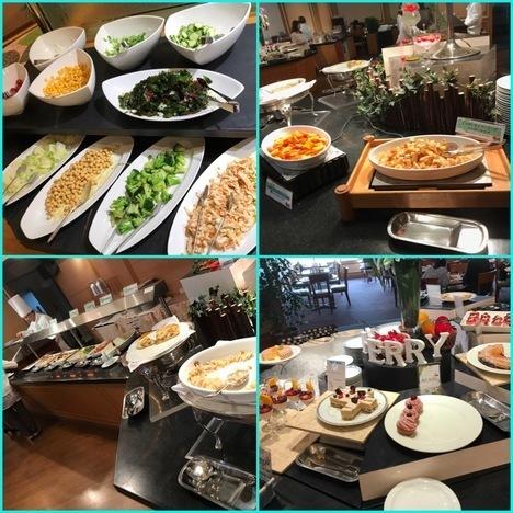 新潟バイキングレストランつばきスイーツビュッフェ肉の日ステーキ食べ放題イベント陳列