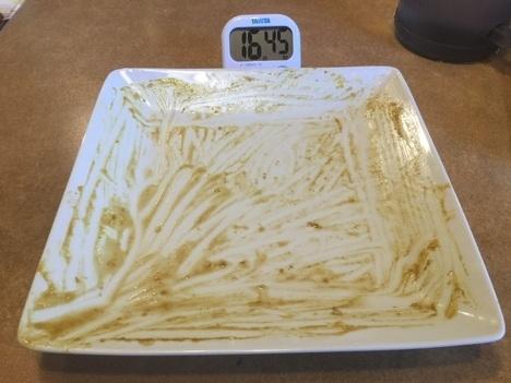 ステーキのどん相模原チャレンジメニュー東西名横綱ハンバーグカレー完食成功