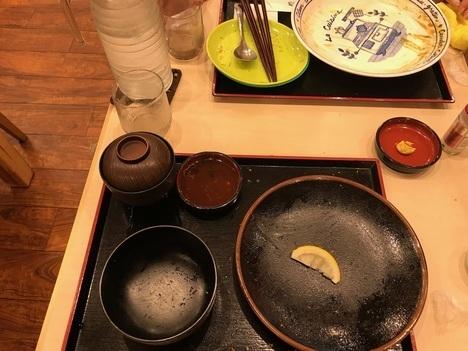 18切符旅奈良県代表デカ盛り店とんまさ名物デカ盛りジェンガ盛りチキンカツ他完食