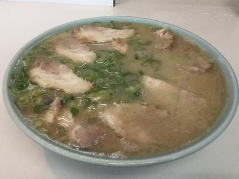 久留米ひろせ食堂大大セットラーメン