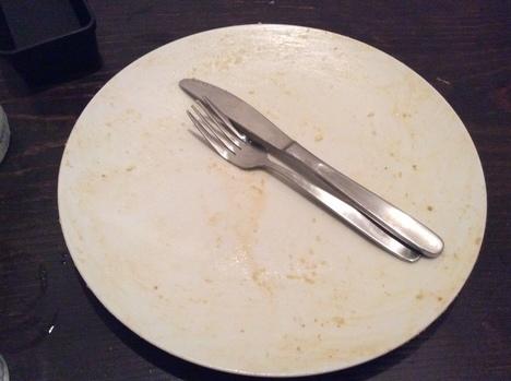 キッチンマカロニキャラメルハニートーストレギュラー完食