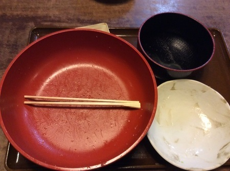 沼田とんかつのゆき藤じゃんぼかつ丼定食完食