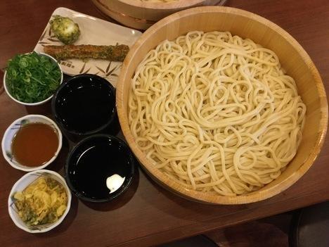 丸亀製麺1日釜揚げ半額DAYで10玉分