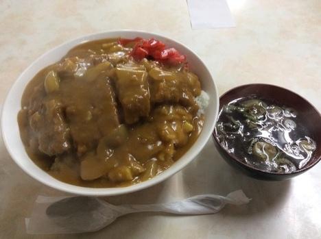 渋川林屋食堂特大カツカレー定食