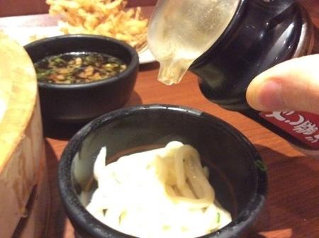 丸亀製麺だし醤油