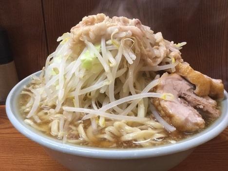 ラーメン二郎亀戸大ラーメンヤサイマシマシアブラ