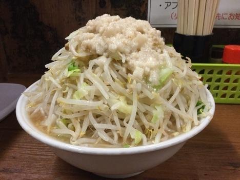 ラーメン二郎品川店大ラーメンヤサイマシマシ全店制覇