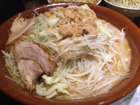 蒙麺火の豚麺マシゆで前1kgすり鉢フュージョン