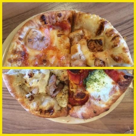 大間々マコマコ食べ放題焼きたてピザ