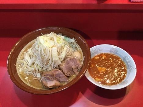 火の豚フュージョン麺マシすり鉢別アングル