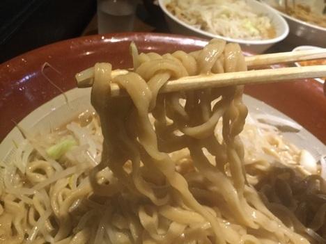 蒙麺火の豚麺マシゆで前1kgすり鉢フュージョン麺リフト
