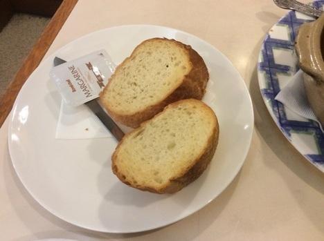 ステーキハウス赤坂ビーフシチューパン