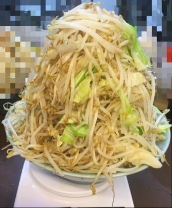 立川マシマシ青梅秘密工場大ラーメンヤサイマシマシ別盛ヤサイ