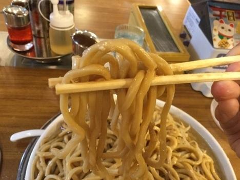 景勝軒イオンモール太田東麺鬼マシ野菜バケツ増し麺リフト