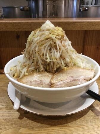 野菜マシふじ麺麺屋桜木