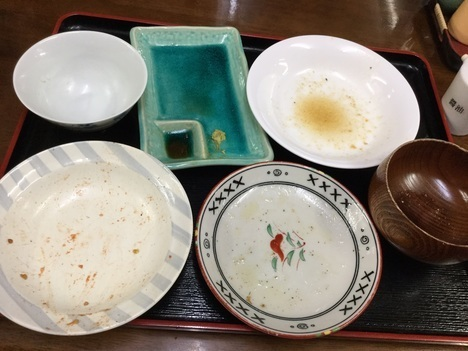 慶良間諸島阿嘉島川道夕食完食