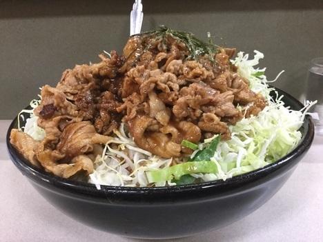 野田けやき食堂デカ盛り特6けやき丼