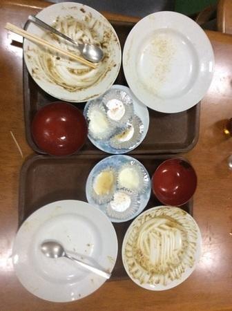 渋川叶食堂完食