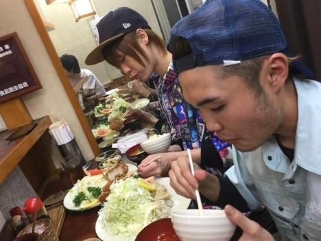 相模原とんかつ赤城プチオフ会Draco&いけちゃん丸