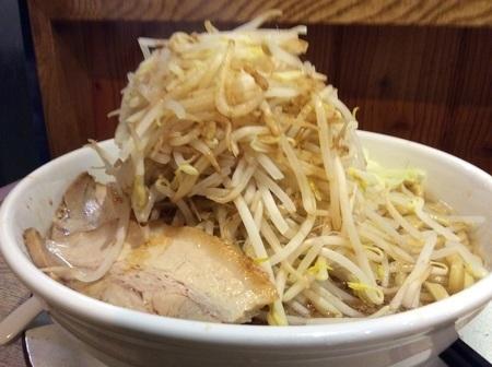 麺屋桜木ふじ麺野菜マシ