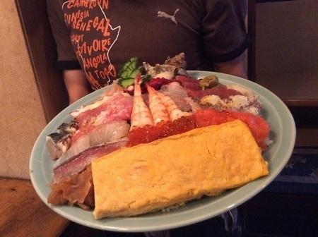太田寿司広海鮮丼重量