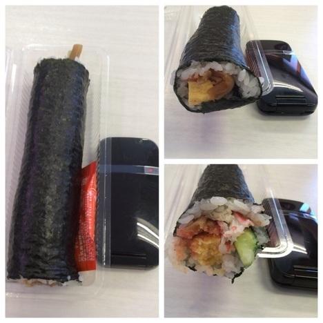 はま寿司恵方巻食べ比べ