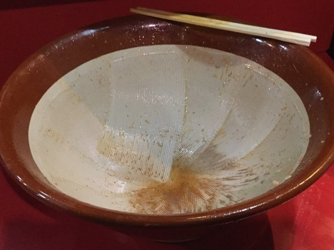 蒙麺火の豚麺マシマシフュージョン完食