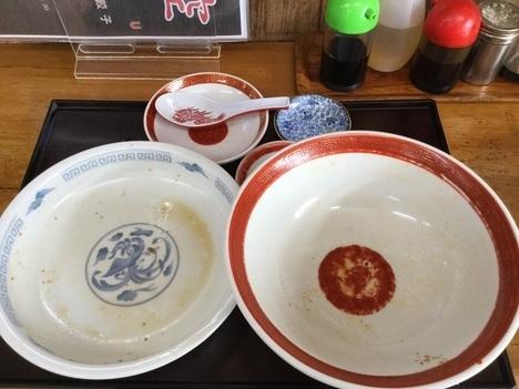 酒田悟空ラーメン欲張りマーボー飯セット完食