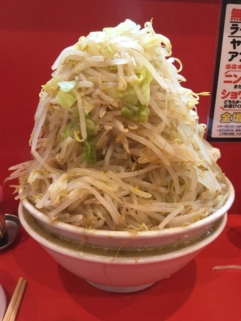 ドンキタモト別盛麺増し野菜トリプル