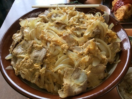 宇都宮藤の超特盛り肉丼4kg弱