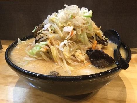 五代目麺や蝦夷デカ盛り3玉蝦夷ラーメン