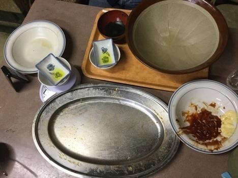 栃木デカ盛り聖地お食事処藤デカ盛り2つ完食