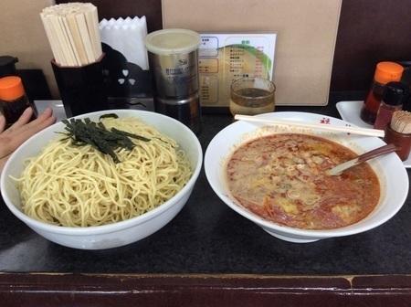 熊谷福龍ピリ辛味噌つけ麺