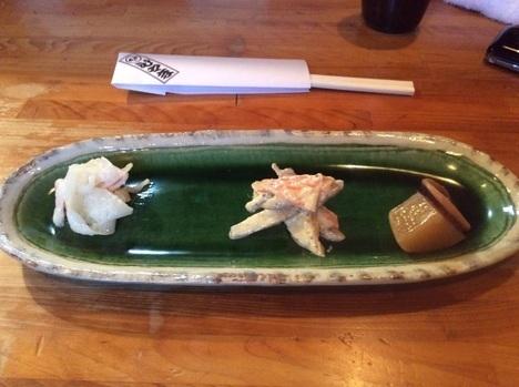宇都宮とんかつひやま前菜3種