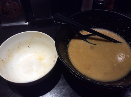 麺マッチョ新大まぜそばW完食