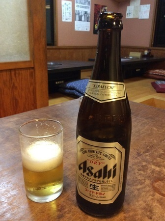 沼田とんかつのゆき藤ビール