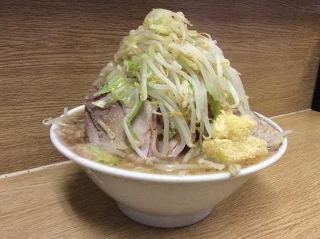 ラーメン二郎栃木街道店マシマシ