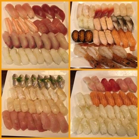 小山にぎり寿司新門食べ放題ランチ