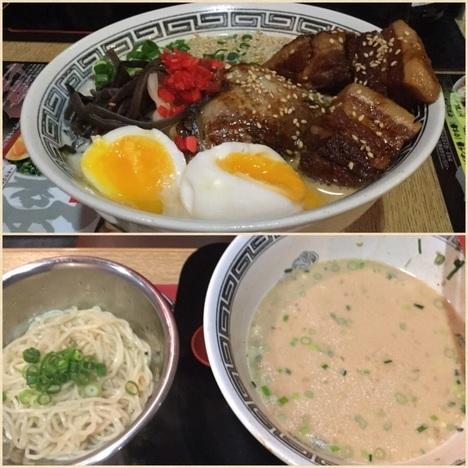 新潟麺番長大盛りと替玉