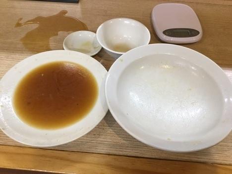 東松山西華野菜炒めとチャーハン大盛り完食