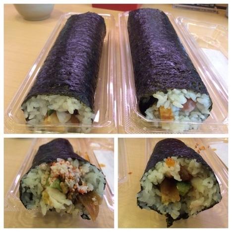 かっぱ寿司恵方巻食べ比べ