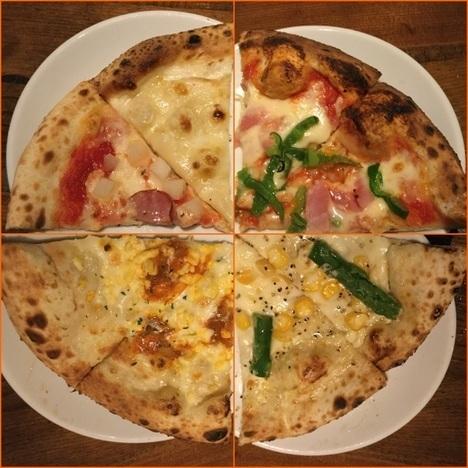 ナポリの食卓桐生店の巡回ピザ複合写真