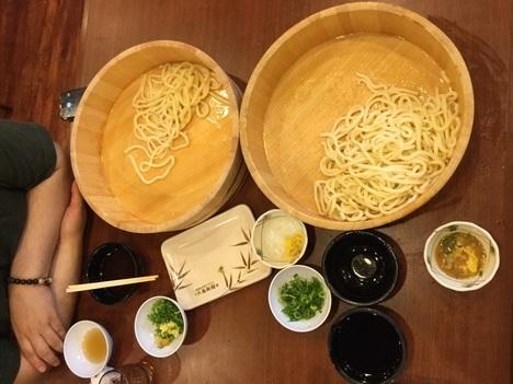 丸亀製麺1日釜揚げ半額DAY経過