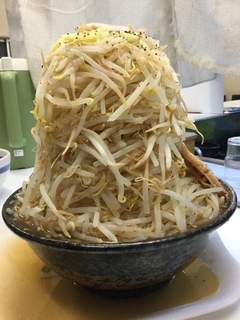 二郎系満帆太田藤阿久ふじ麺マシマシ横アングル