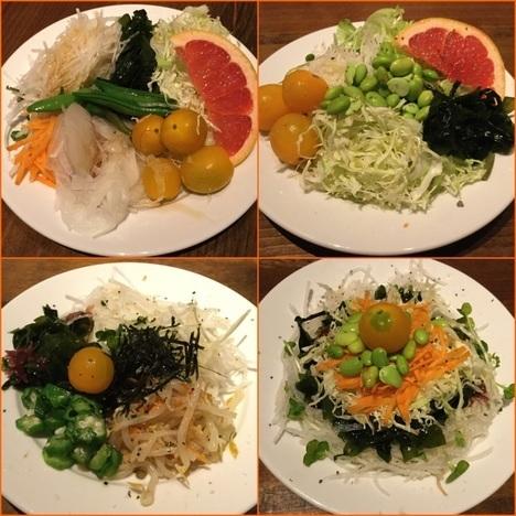 ナポリの食卓桐生店のサラダバー