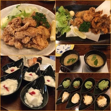 小山にぎり寿司新門食べ放題ランチ一品メニュー