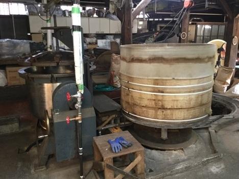 結城秋葉麹味噌醸造工場内設備